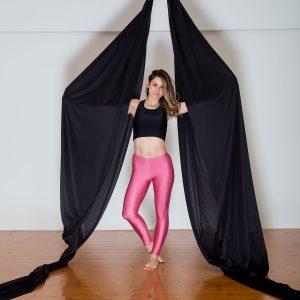 Aerial Dance & Acrobatics fabric (Tissus) - Black