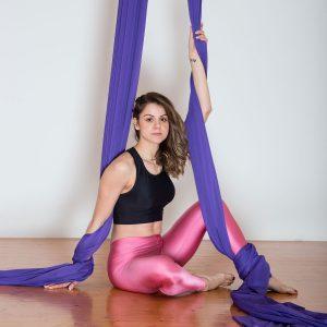 Aerial Dance & Acrobatics fabric (Tissus) - Purple
