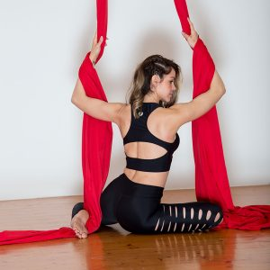 Aerial Dance & Acrobatics fabric (Tissus) - Red