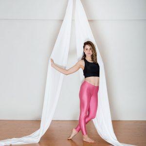 Aerial Dance & Acrobatics fabric (Tissus) - White