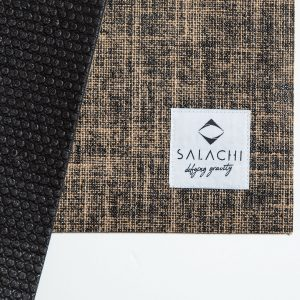 Salachi Hemp Yoga mat (Black)
