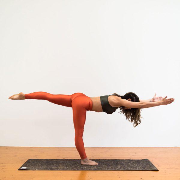 Salachi Hemp Yoga mat (Dark Brown)
