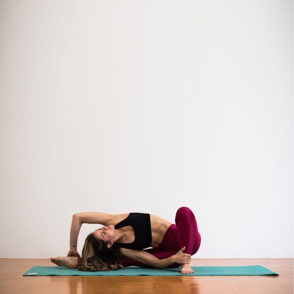 Salachi Hemp Yoga mat (Turquoise)