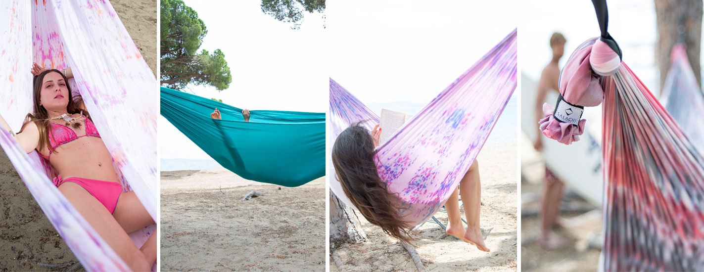 Chill in your Relaxing Hammock by Salachi and enjoy!