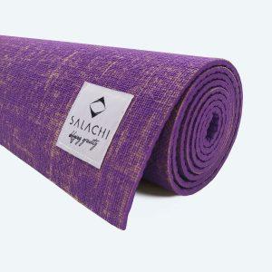 Hemp Yoga Mat Violet
